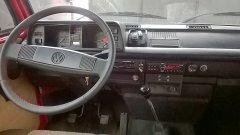 Lenkrad neu bezogen und neues Radio