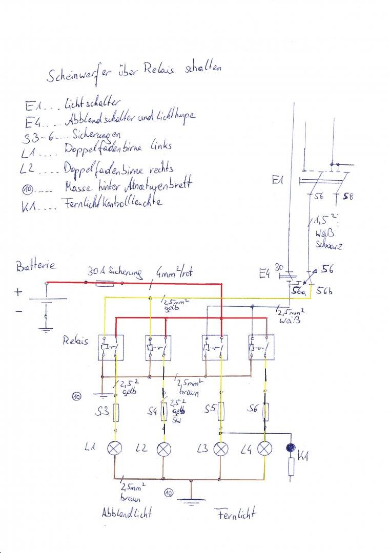 Ausgezeichnet Schaltplan Des Zwischenschalters Galerie - Elektrische ...