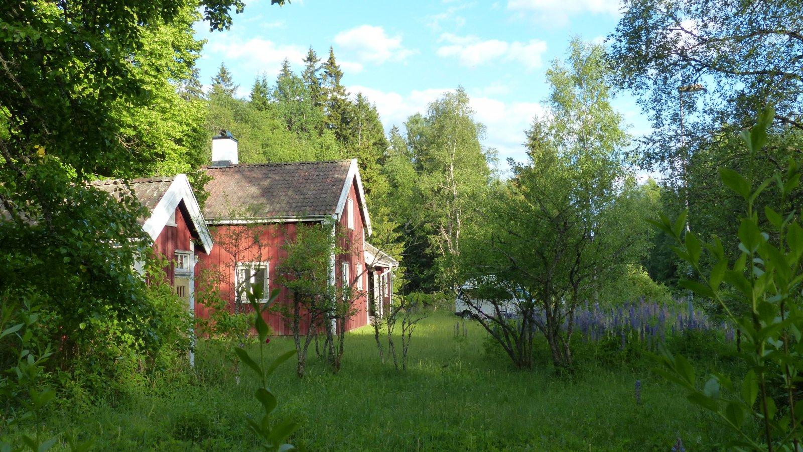 Unser Bahnhof in Schweden